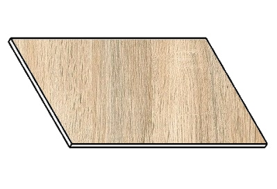 Kuchyňská pracovní deska 100 cm dub sonoma