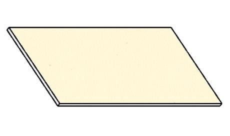 Kuchyňská pracovní deska 140 cm vanilka