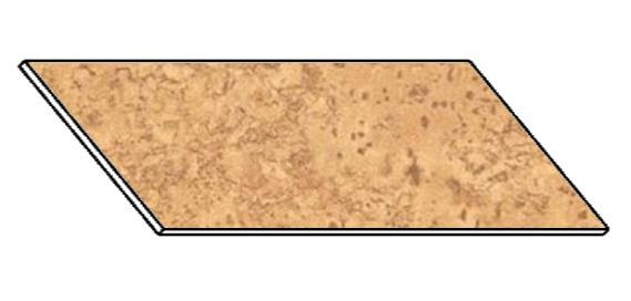 Kuchyňská pracovní deska 180 cm korek