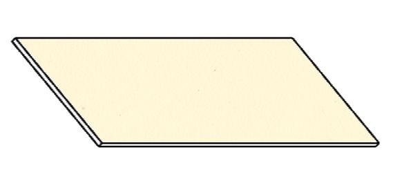 Kuchyňská pracovní deska 180 cm vanilka