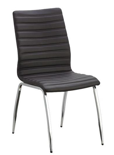 Jídelní židle ARMADILLO černá