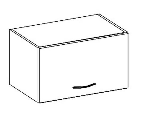 W50OK skříňka nad digestoř LIMED
