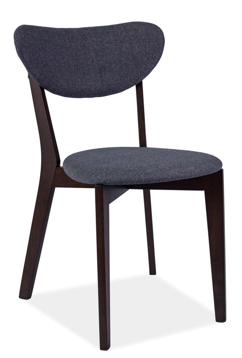 Jídelní čalouněná židle ANDRE šedá