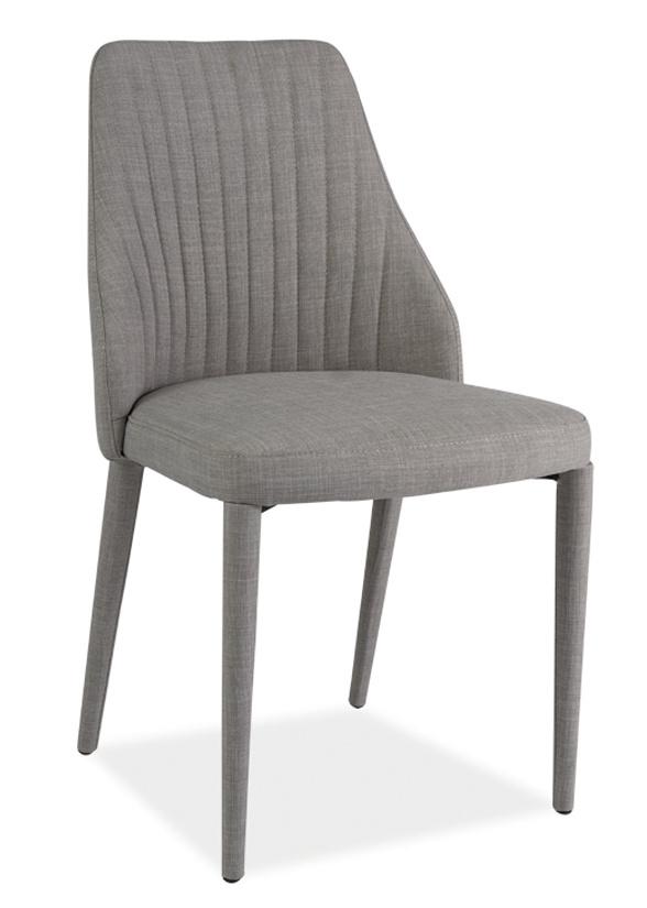 Jídelní čalouněná židle ARSEN šedá