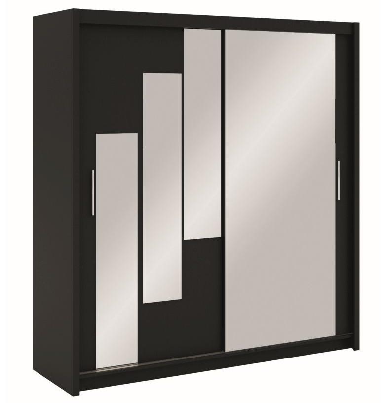 Šatní skříň BONA 203 černá