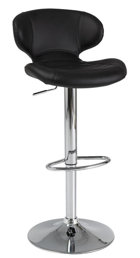 Barová židle C-140 černá