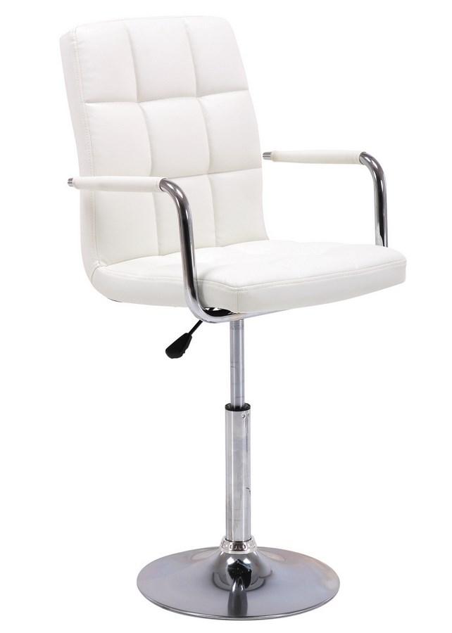 Barová židle C-152 bílá