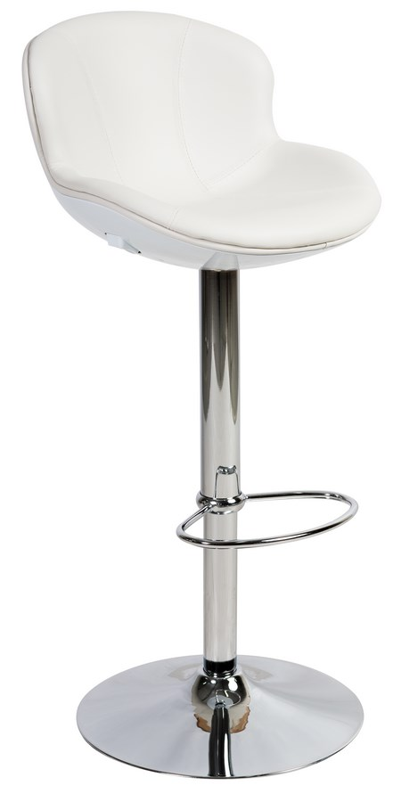 Barová židle C-389 bílá