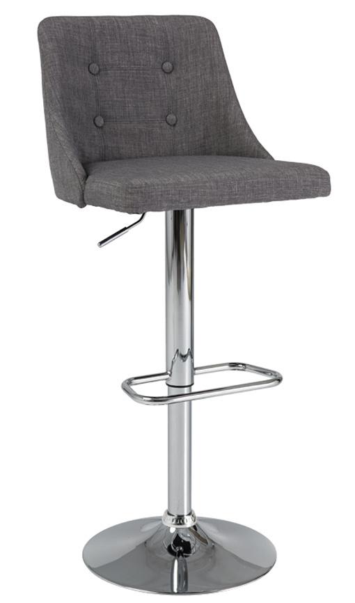 Barová židle C-886 šedá