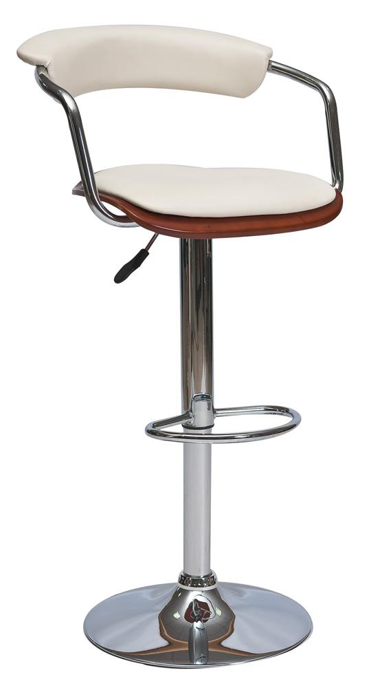 Barová židle KROKUS C-973 třešeň/krémová