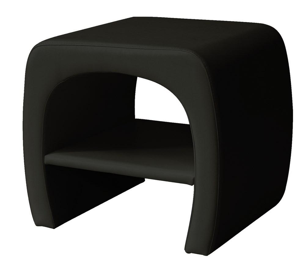Noční stolek TOKYO černý