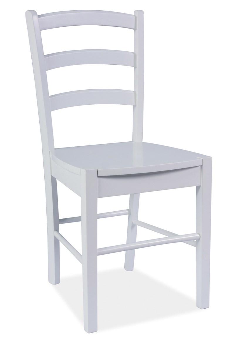 Jídelní dřevěná židle CD-38 bílá