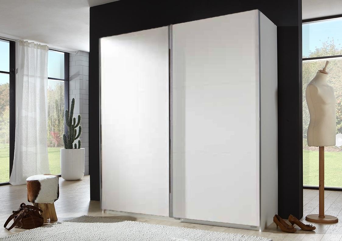 Šatní skříň CHESS 771 bílá/bílá