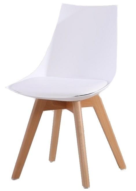 Jídelní židle DELIS bílá