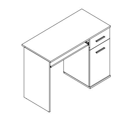 Pracovní stůl DOMINO II