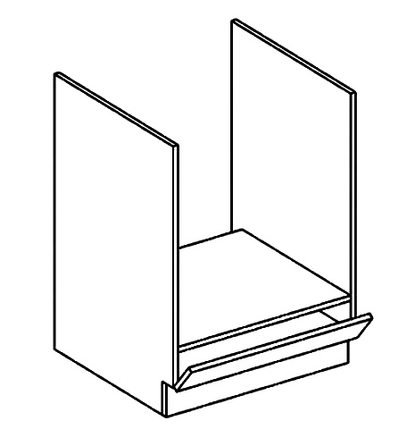 DK60 skříňka na vestavnou troubu MORENO kaštan