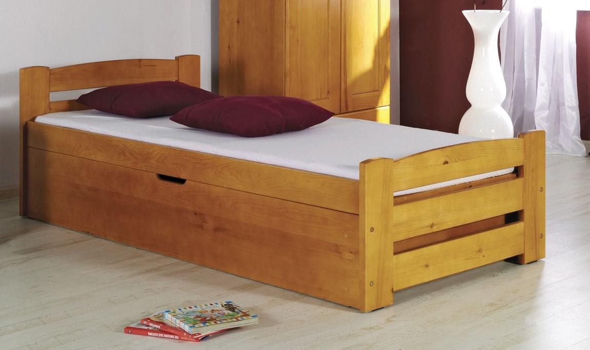 Dětská postel BOLEK (Barva: dol moření ořech)