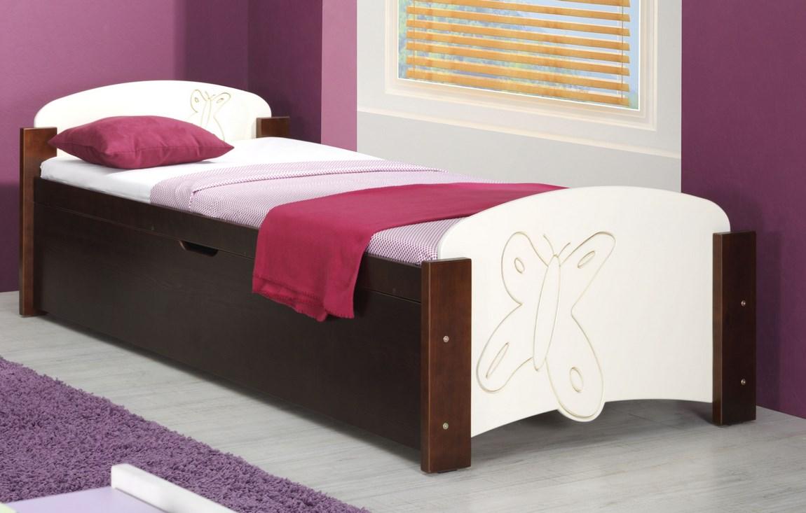 Dětská postel MÁNIČKA 1 (Barva: dol moření ořech)