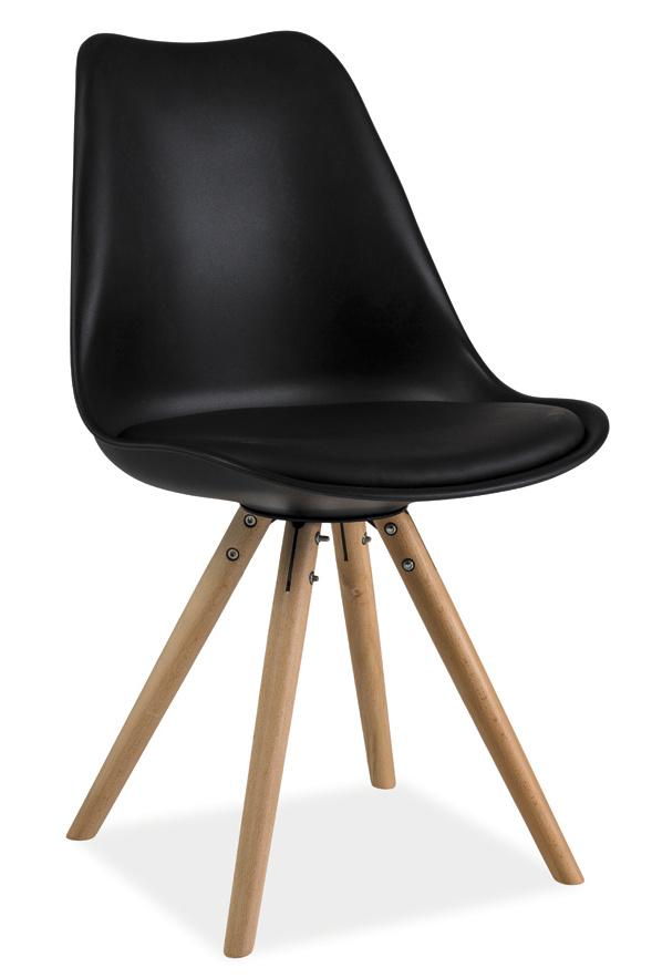 Jídelní židle ERIC černá
