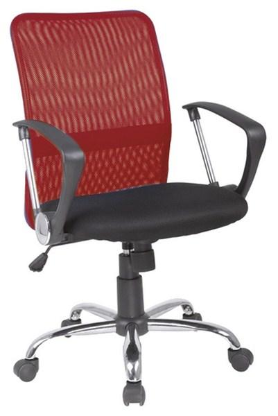 Kancelářská židle Q-078 červená