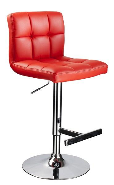 Barová židle KROKUS C-105 červená