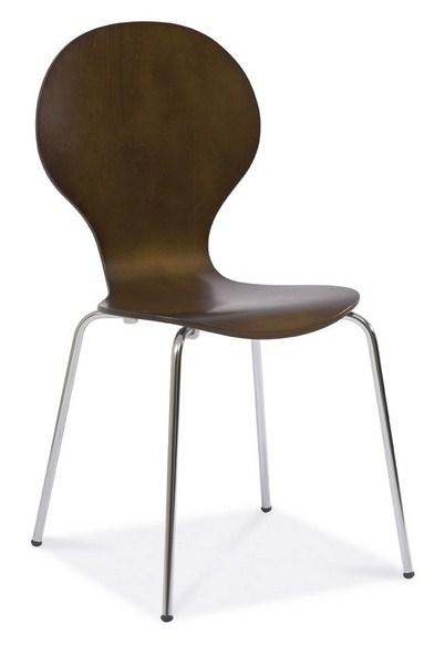 Jídelní židle W-93 hnědá