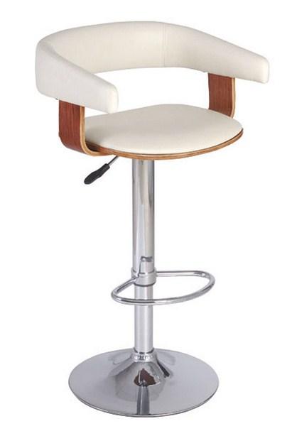 Barová židle KROKUS C-923 krémová/třešeň