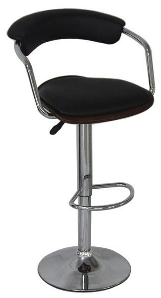 Barová židle KROKUS C-973 wenge/černá