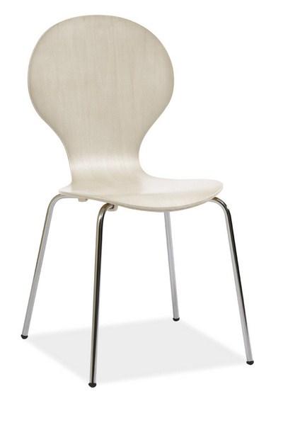 Jídelní židle W-93 bílá