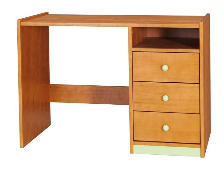 BOROVICE D-PC2 psací stůl (Barva: dol moření ořech)