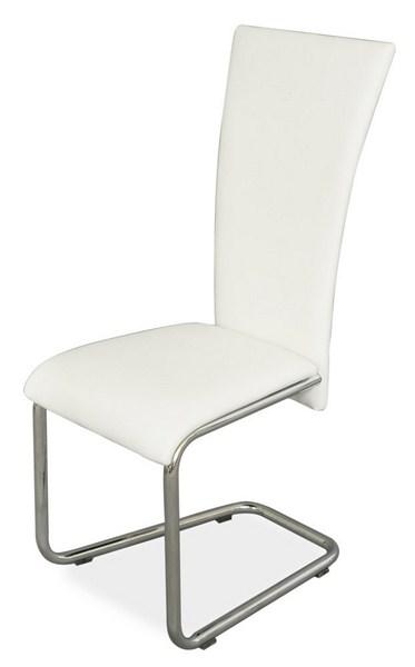 Jídelní čalouněná židle H-224 bílá