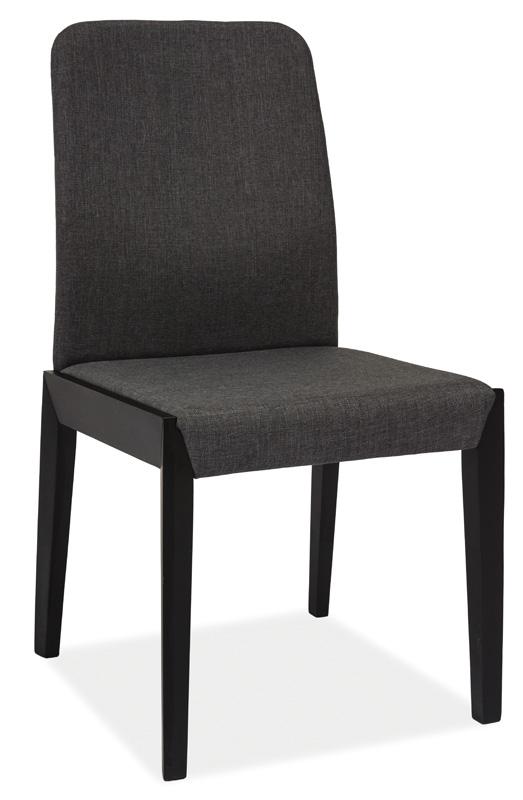 Jídelní čalouněná židle FILO černá