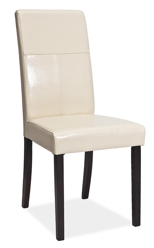 Jídelní čalouněná židle C-114 venge/krémová