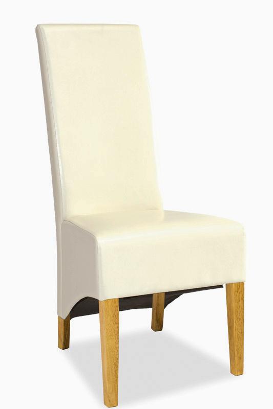 Jídelní čalouněná židle DONADONI dub/krém