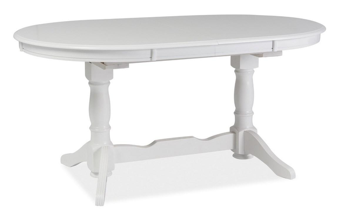 Jídelní stůl EUROPA rozkládací bílý