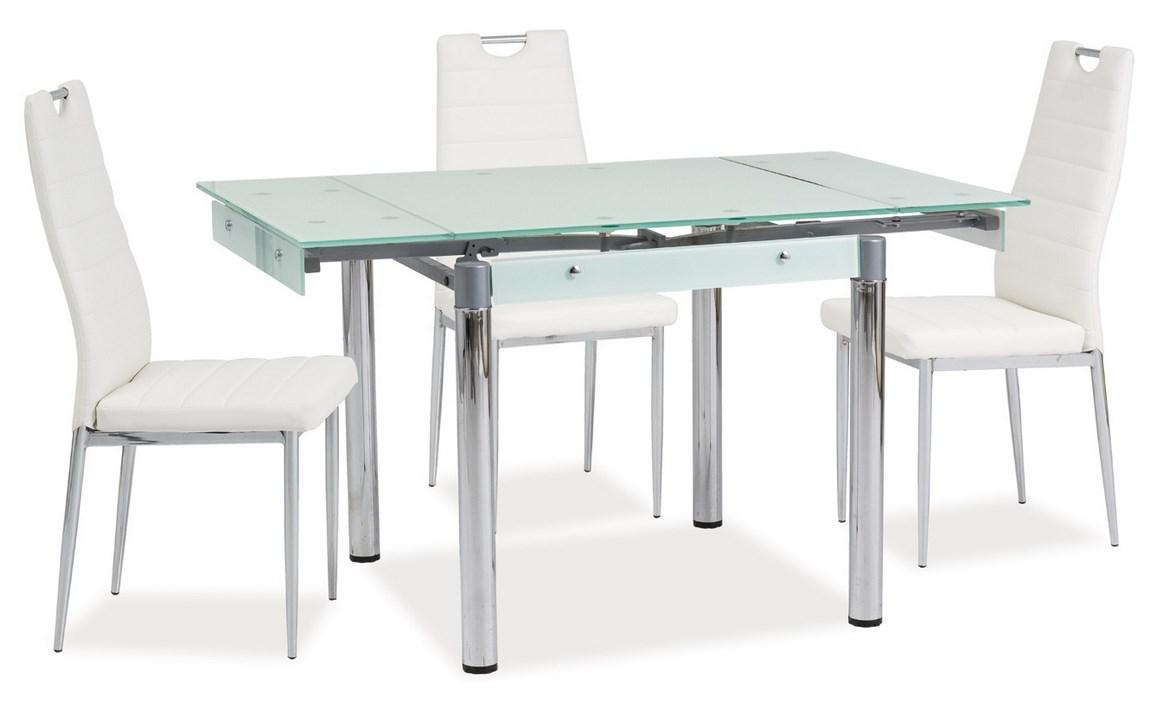 Jídelní stůl GD-083 rozkládací bílý