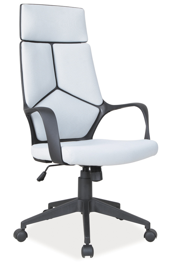 Kancelářské křeslo Q-199 šedá/černá