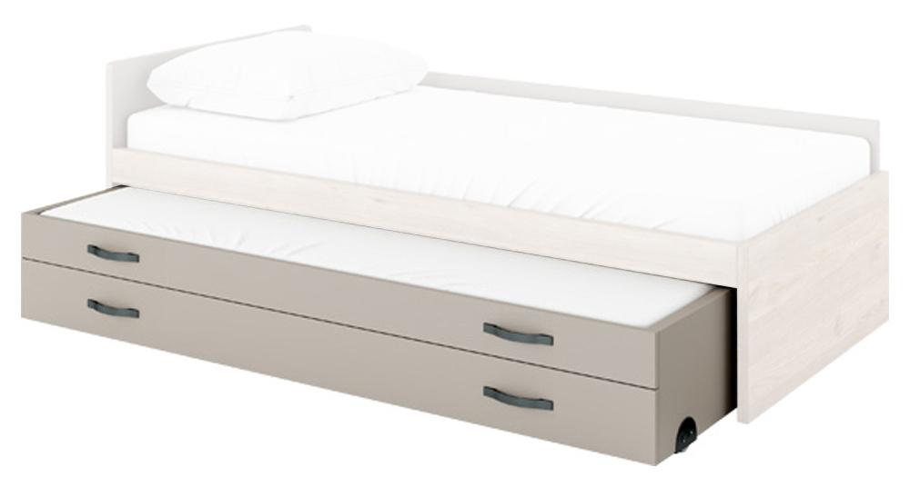 Dolní postel s matrací a se zásuvkou FLEX FX-16