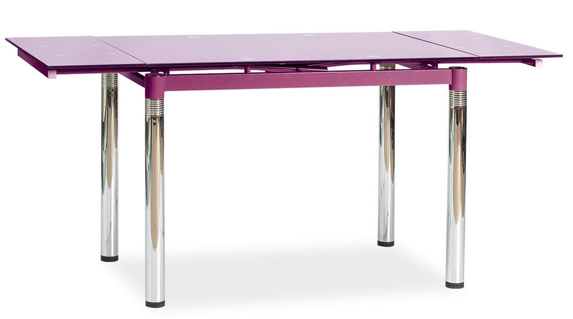 Jídelní stůl GD-018 rozkládací fialový