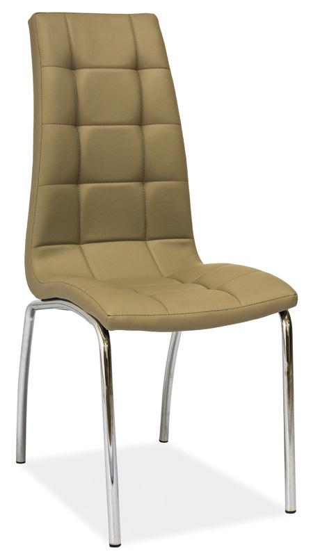 Jídelní čalouněná židle H-104 tmavý béž