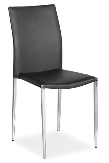 Jídelní čalouněná židle H-109 černá