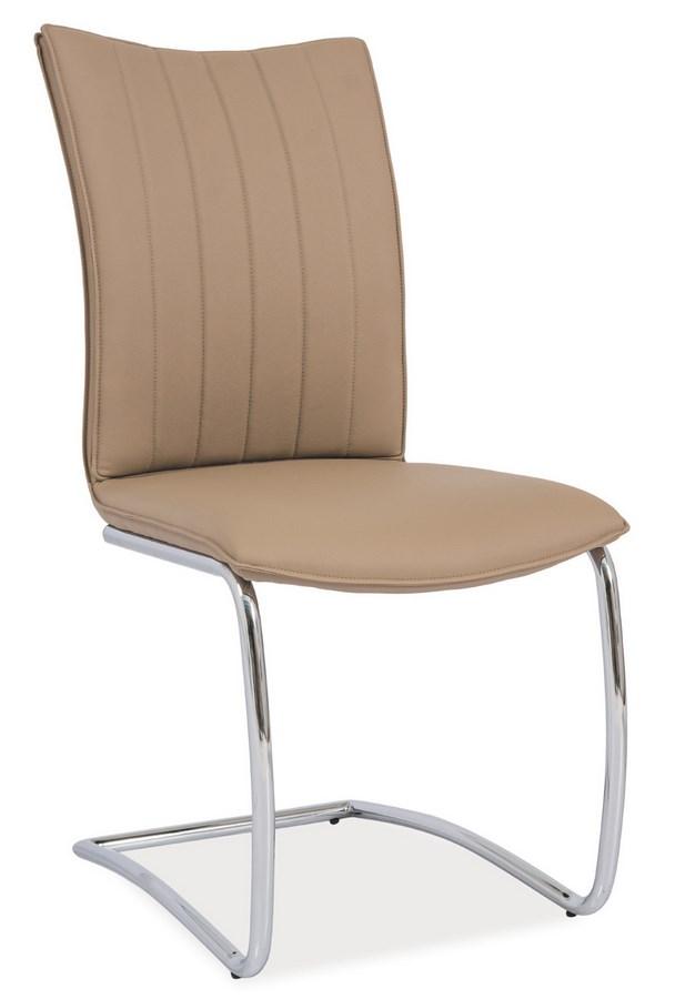 Jídelní čalouněná židle H-455 tmavě béžová