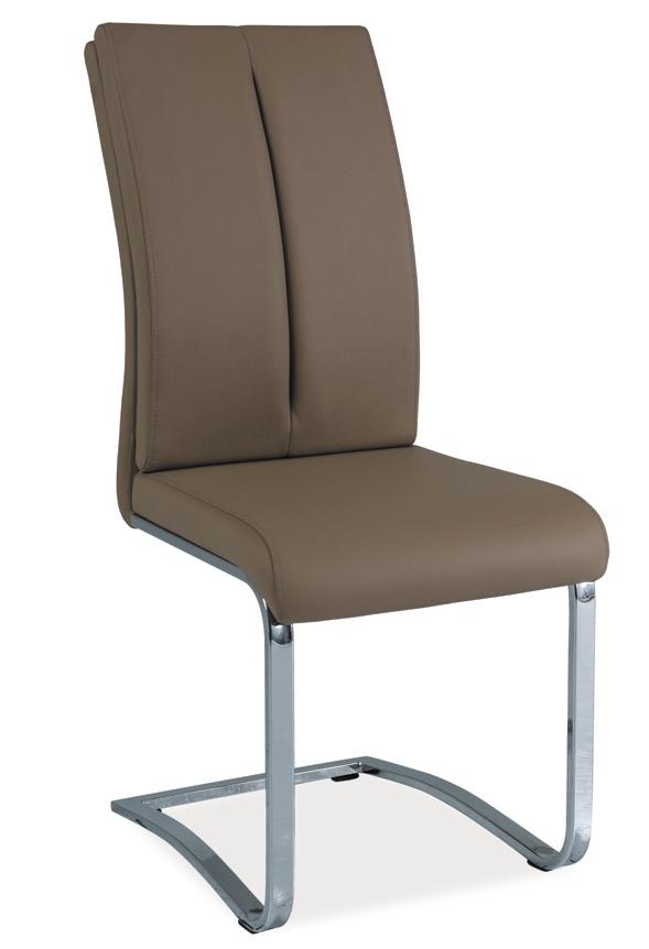 Jídelní čalouněná židle H-543 latte