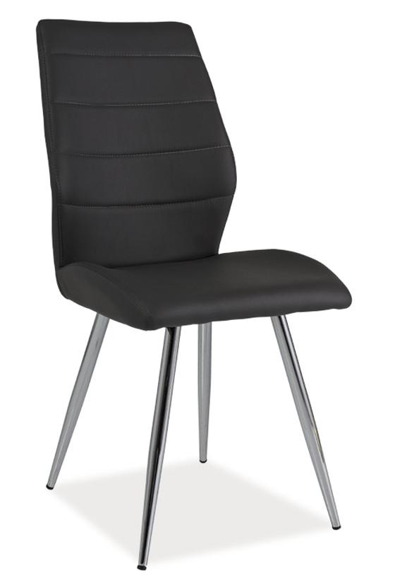 Jídelní čalouněná židle H-607 grafit