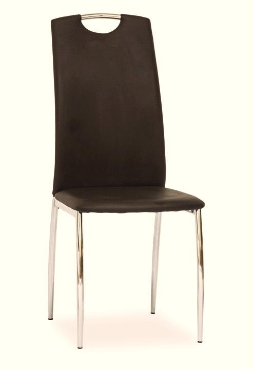 Jídelní čalouněná židle H-622 hnědá