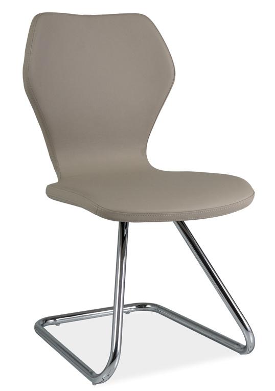 Jídelní čalouněná židle H-677 cappucino