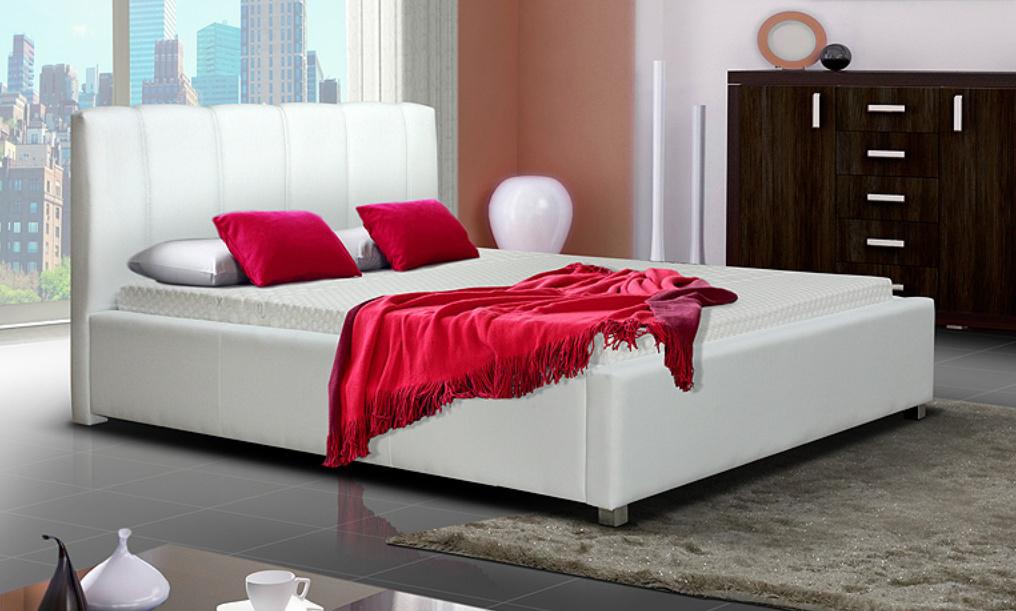 Čalouněná postel LUBNICE I 180 (Potah: sawana 21)