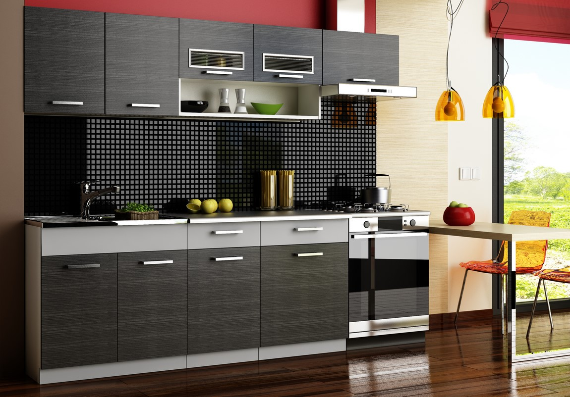 Kuchyně MORENO 240 grafit bis