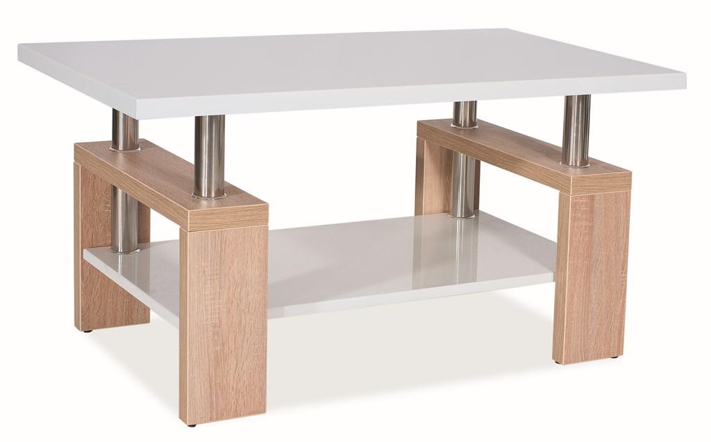 Konferenční stolek LISA BIS MDF - dub sonoma