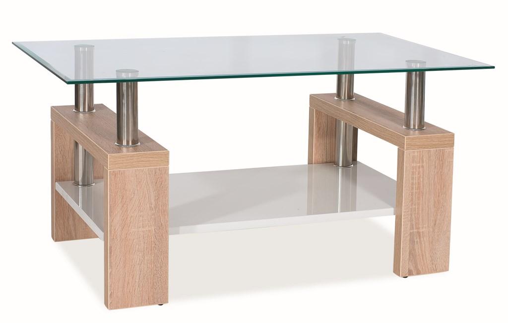 Konferenční stolek LISA BIS - dub sonoma